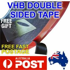 VHB DOUBLE SIDED TAPE black Heavy Duty Signage Building 1mm x 12mm x 33m