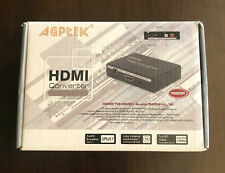 HDMI to HDMI + SPDIF + RCA L / R Audio Extractor Converter (HDMI input) [NEW}