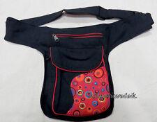 P33 Cotton Waist Belt shoulder sport Travel Messenger Hip Fanny Wallet Bag Purse