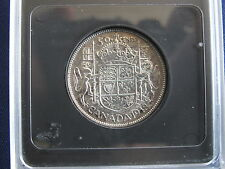 1948 Canada Narrow Date Low 4 ND Silver 50 Cents P2691