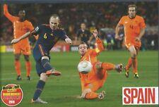 MOTD-POSTER 2017/18-SPAIN-2010-MAGIC MOMENT-INIESTA BAGS WINNER TO WIN WORLD CUP