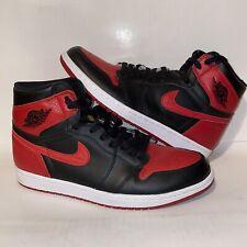 Nike Air Jordan 1 Retro High OG Bred Banned 2016 555088-001 CheckCheck Size 10.5