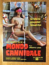 Mondo Cannibale (Kinoplakat '73) - Umberto Lenzi / Horror