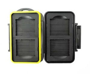 JJC MC-CF4 Rugged Waterproof Memory Card Case (4x CF / CompactFlash)