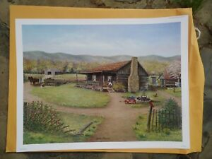 "Fred Thrasher ""Spring Memories"", 2012, Country Spring Scene"