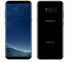 BRAND NEW AT&T UNLOCKED SAMSUNG GALAXY S8 PLUS SM-G955 64GB MIDNIGHT BLACK !!