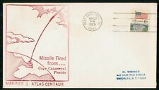 Mayfairstamps Us Space 1969 Cover Florida Missile Fired Mariner G Atlas Centaur