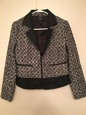 Gossip Girl By Romeo And Juliet Couture Women's Tweed Jacket Size M