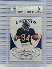 2019 Flawless Walter Payton Authentic Sapphire Gem #01/10 BGS 9 MINT Bears N45
