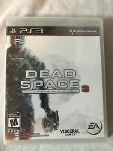 Dead Space 3 Limited Edition Playstation 3 PS3 - New Sealed