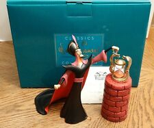 "NEW Aladdin's Jafar ""Oh Mighty Evil One"" WDCC Disney Classics Villains Figurine"