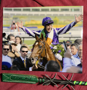 John Murtagh Irish Champion Signed Whip Crop Breeders Cup Horse Racing Autograph