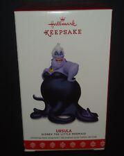Hallmark Keepsake Ornament 2017 Disney the Little Mermaid Ursula LE New