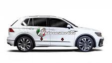 Modanature Cornici Portiere Acciaio Cromo Cromate VW TIGUAN 2016> nuovo modello