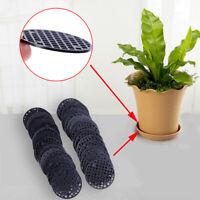 50Pcs Flower Pot Hole Mesh Pad Grid Mat Prevent Soil Loss Breathable Gasket PY