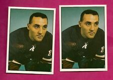 2 X 1981-82 TCMA CANADIENS JACQUES PLANTE GOALIE   MINT CARD (INV# A063)