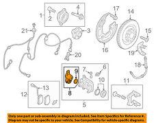 AUDI OEM 11-17 A8 Quattro Parking Brake-Motor 4H0998281