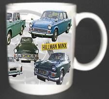 HILLMAN MINX CLASSIC CAR MUG LIMITED EDITION SERIES I TO VI 1956-67.AUDAX SERIES