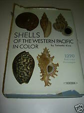 SHELLS of the WESTERN PACIFIC IN COLOR*KIRA*1962*1st ED