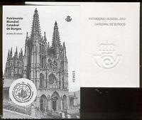 Prueba de artista 2012 Catedral Burgos sin dentar @ F.N.M.T.@