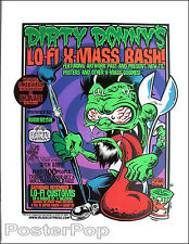Dirty Donny Lo Fi Art Show Silkscreen Poster 2005 Pinstripe Roth Monster Wrench