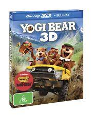 Yogi Bear 3D & 2D Versions (Blu-ray, 2011, 2-Disc Set) New & Sealed