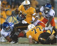 WYOMING ROBERT HARRIS HAND SIGNED 8X10 INCH PHOTO W/COA NFL DRAFT