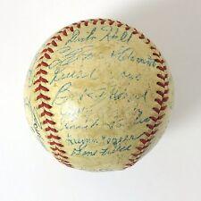 1956 Pittsburgh Pirates Team Auto Baseball (Roberto Clemente) - JSA Letter COA