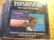 Rod McKuen  - Sings McKuen + Sings his Own [CD Album] RAR OOP