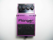 BOSS BF-2 80's Vintage Flanger Guitar Effect Pedal Made In Japan MIJ