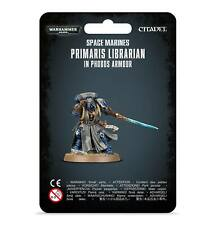 WARHAMMER - SPACE MARINES PRIMARIS LIBRARIAN IN PHOBOS ARMOUR