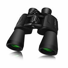 SkyGenius 10 x 50 Powerful Binoculars for Adults Durable Full-Size Clear Binocul