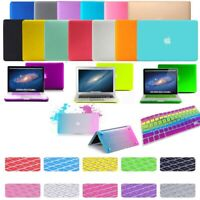"""Rubberized Hard Case Shell Keyboard Cover Macbook Pro Air 11 12 13 15 16"""" Retina"""