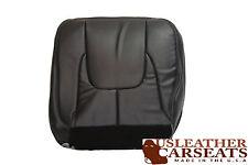 2003 Dodge Ram 2500 SLT Laramie - Driver Bottom Leather Seat Cover Dark Gray -