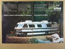 1978 Apollo 3300 RBV Motorhome RV photo dodge chassis vintage print Ad