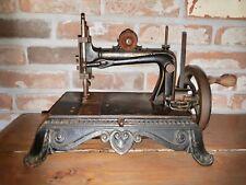 Cast iron Bremer & Brückmann Brunonia Sewing machine 1890