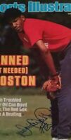 Red Sox, Expos Dennis Oil Can Boyd hand signed IP 8/4/86 Sports Illustrated