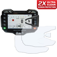 2 x DUCATI MULTISTRADA 950 1200 1260 Dashboard Screen Protector: Ultra-Clear