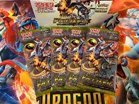 4x Japanese Pokemon Dragon Storm Booster Packs // Dragon Majesty // Charizard