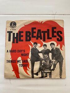 "THE BEATLES A Hard Day's Night 7"" 1964 Österreich  Odeon O-28521 sehr rar"
