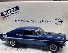 Danbury Mint 1970 Yenco NOVA ..350 DEUCE 1/24 Scale Very Nice Car !