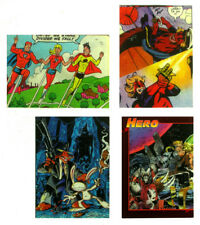 #92 - LOT OF 4 PROMO TRADING CARDS - Hero Magazines, Strike Force Cyber Force