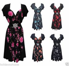 Christmas All Seasons Short Sleeve Dresses for Women