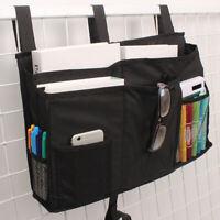 8 Pockets Bedside Storage Caddy Home Hanging Bag Bunk Dorm Bed Organizer Holder