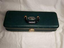 Vintage 1970's Umco 400R Green Fishing Lure Tackle Box