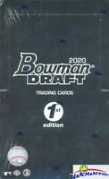 2020 Bowman Draft 1st Edition Baseball Factory Sealed HOBBY Box-240 Cards!