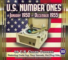 3 CD BOX US NUMBER ONES JANUARY 1950 - DECEMBER 1955 AUTRY FISHER MILLER HALEY