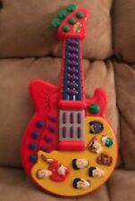 """The Wiggles Guitar 2003 Sound & Music Electronic Toy 15 1/2"""" Long Classic RARE"""