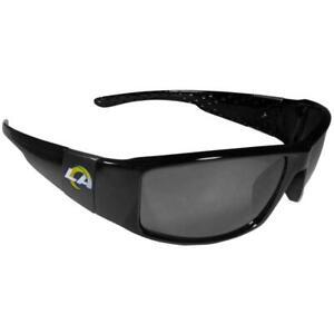 Los Angeles Rams Siskiyou Black Wrap Sunglasses [NEW] NFL Sun Glass Shade