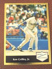 KEN GRIFFEY JR. 1991' SPORTS EDUCATIONAL GOLD FOIL   #4     MARINERS